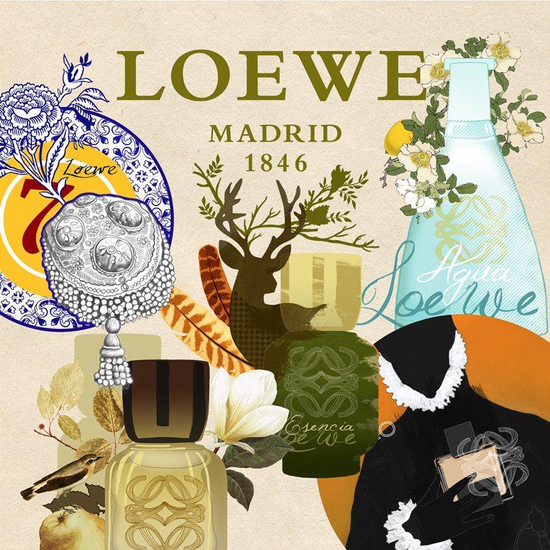 "CAMPAÑA ""40 ANIVERSARIO PERFUMES LOEWE"" LOEWE"